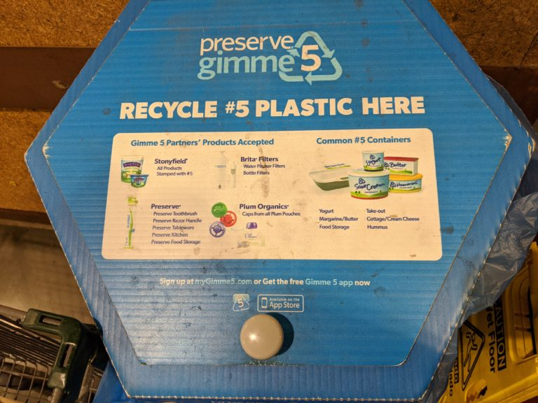 Where You Can Recycle Lower-Grade Plastics in South Orange-Maplewood