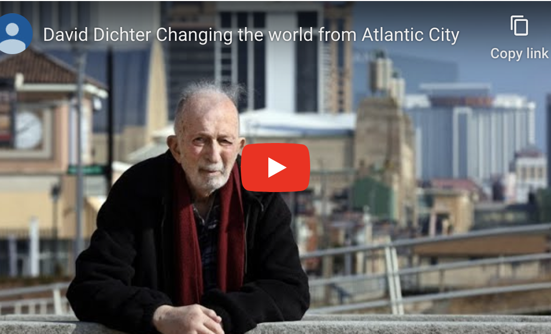 David Dichter wants to change Atlantic City and make the world a better place