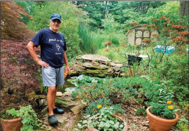 A 30-Year-Old Backyard Oasis is a Mini-Ecosystem